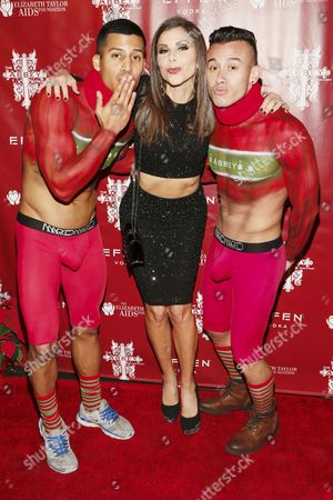 Heather Dubrow with guests