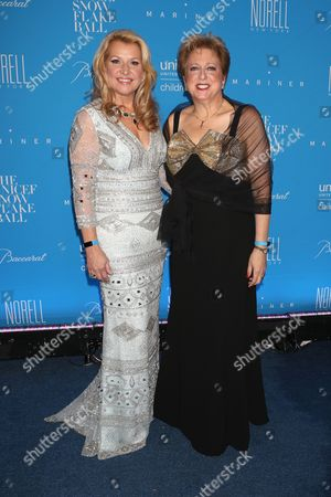 Mindy Grossman and Caryl Stern, President and CEO, U.S. Fund for UNICEF