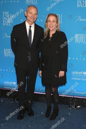 Toby Usnik and Susan Rockefeller