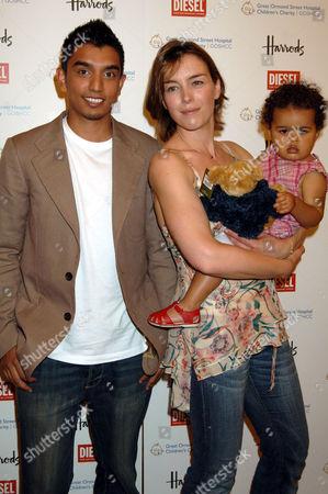 Tim Kash, Olivia Williams and daughter
