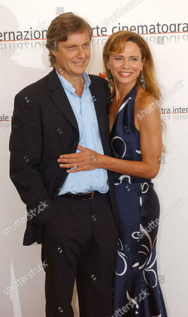 Lasse Halstrom and Lena Olin at the 'Casanova' film photocall and premiere
