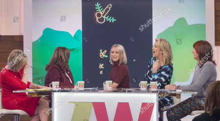 Editorial image of 'Loose Women' TV Programme, London, Britain - 02 Dec 2015