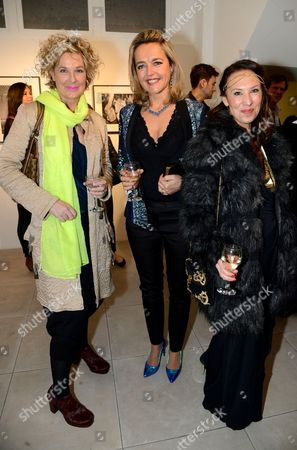 Fiona Hawthorne, Frederique Andreani with guest
