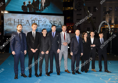 Editorial image of 'In the Heart of the Sea' film premiere, London, Britain - 02 Dec 2015