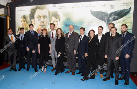 Joseph Mawle, Edward Ashley, Tom Holland, Ben Walker, Chris Hemsworth, Ron Howard, Charlotte Riley, James Sives and Cillian Murphy