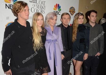 Rick Schroder with family