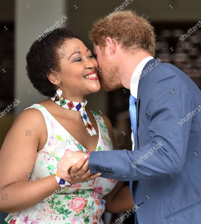 Editorial image of Prince Harry visit to South Africa - 03 Dec 2015