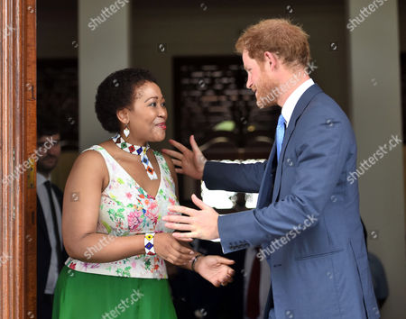 Editorial photo of Prince Harry visit to South Africa - 03 Dec 2015