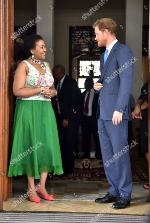 Editorial picture of Prince Harry visit to South Africa - 03 Dec 2015