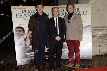 Pietro Valsecchi, Sergio Hernandez, Daniele Luchetti