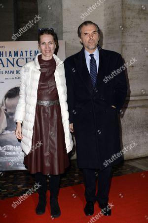 Ugo Maria Brachetti Peretti and wife Isabella Borromeo