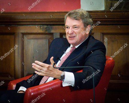 Lynton Crosby, political strategist, at Oxford Union