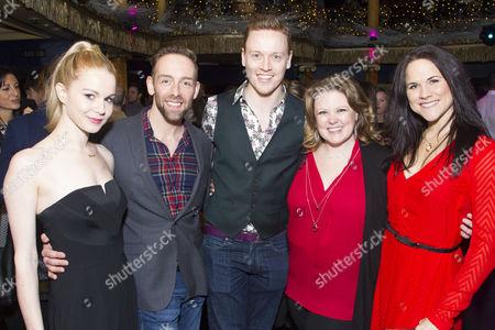 Stock Photo of Amy Lennox, Darren Carnall, Michael Vinsen, Catherine Millsom and Amy Ross