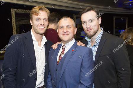 Chris Ellis-Stanton, Paul Kemble and Leon Kay