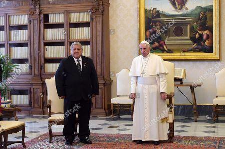 Tuilaepa Aiono Sailele Malielegaoi and Pope Francis I
