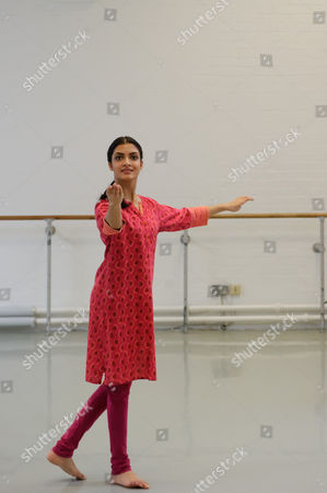 Vidya Patel, BBC Young Dancer Finalist, and Nancy Nerantzi, Richard Alston Dance Company, working in the studio at The Place with choreographer Richard Alston on his new commission 'An Italian In Madrid' which premieres at Sadler's Wells on 29 March