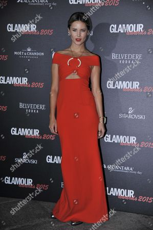 Editorial picture of Glamour Awards, Milan, Italy - 03 Dec 2015
