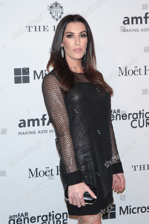 Editorial picture of amfAR generationCURE Holiday Party, New York, America - 03 Dec 2015