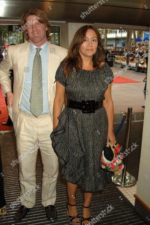 Mark Getty and wife Domitilla