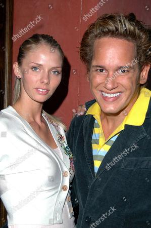 Taylor Erickson and Eduardo De La Renta