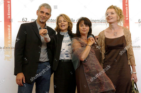 Laurent Cantet, Louise Portal, Charlotte Rampling and Karen Young
