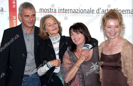 Photocall for 'Vers Le Sud' - Laurent Cantet, Louise Portal, Charlotte Rampling, Karen Young