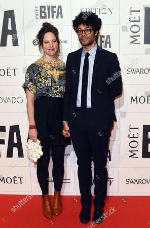Stock Photo of Lydia Fox and Richard Ayoade