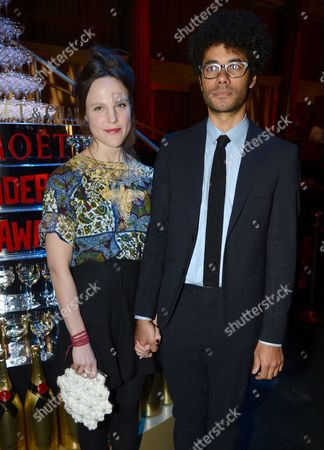 Stock Image of Lydia Fox and Richard Ayoade