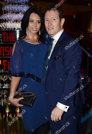 Dr Jasmin Duran and Nick Moran