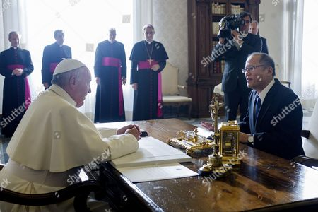 Pope Francis I and Benigno Aquino III