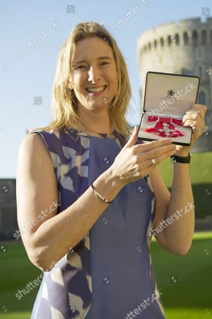Sarah Winckless, who was awarded Member of the Order of the British Empire (MBE) for services to Sport and Young People