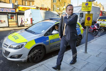 Editorial photo of Labour MP Neil Coyle receives death threats after Syria vote, London - 04 Dec 2015