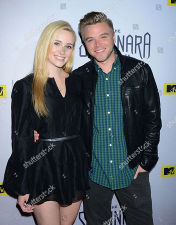 Greer Grammer and Brett Davern