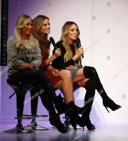 Stock Picture of Billie Faiers, Alexandra Felstead, Charlotte Crosby, Antonia O Brien