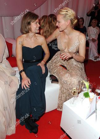 Sarah Biasini and Franziska Knuppe