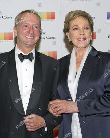 David Bohnett and Julie Andrews