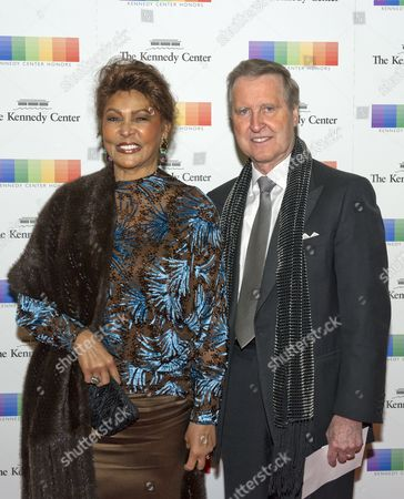 Former United States Secretary of Defense William Cohen and his wife, Janet,