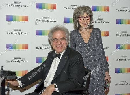 Itzhak Perlman and wife Toby