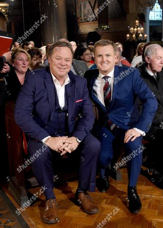 Ted Robbins and Aled Jones