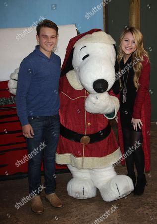 Gavin MacIntosh and Brooke Sorenson