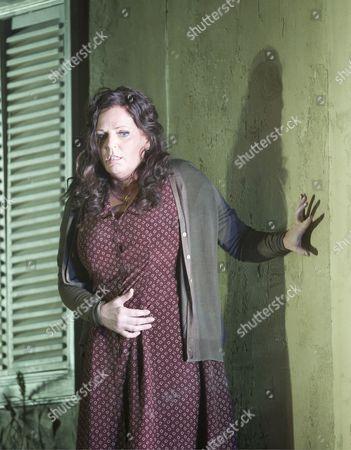 Stock Picture of Eva-Maria Westbroek as Santuzza