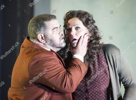Dimitri Platanias as Alfio, Eva-Maria Westbroek as Santuzza