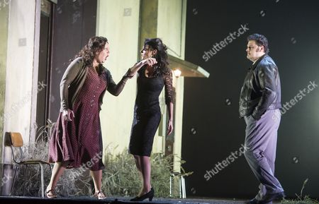 Editorial picture of 'Cavalleria Rusticana' Opera performed at the RoyalOpera House, London, UK, 30 Nov 2015