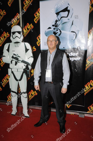 Stock Picture of actor Johnny Lynch (First Order Stormtrooper)