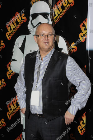 actor Johnny Lynch (First Order Stormtrooper)