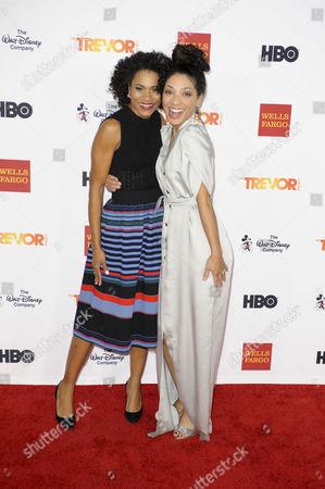 Kelly McCreary and Jasika Nicole