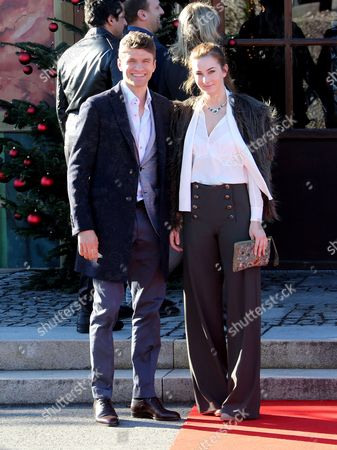 Thomas Muller and wife Lisa