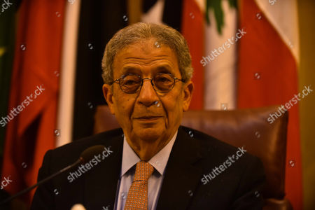 Egyptian former Secretary-General of the Arab League, Amr Moussa