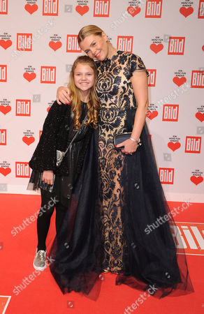 Anne Sophie Briest and daughter Faye