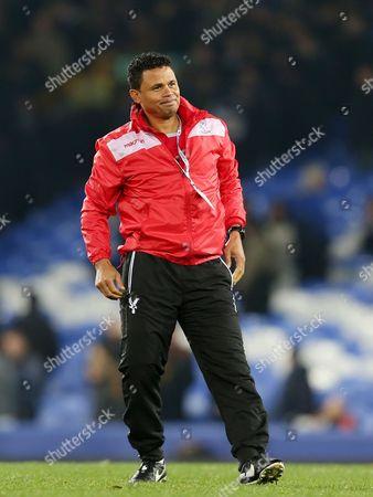 Stock Picture of Crystal Palace coach John Salako